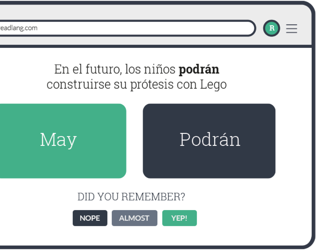 Learn spanish by reading stories or subjects you love all the words you translate are saved and you can practice them on the flashcards page whenever you want solutioingenieria Image collections